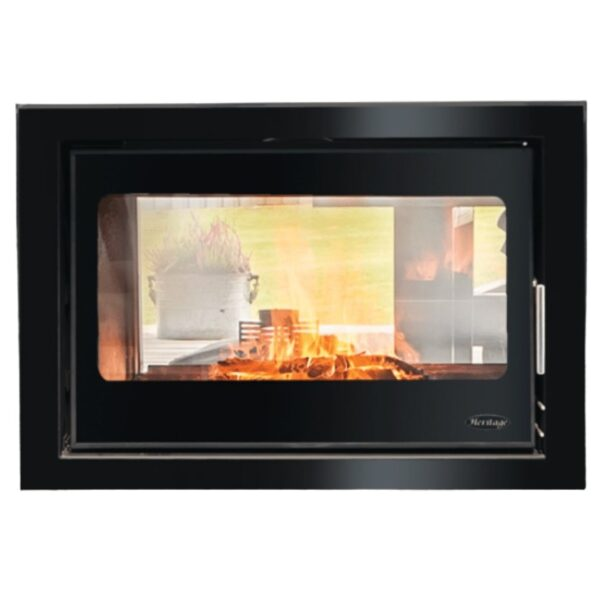 Clare 12kw Double Sided Heritage Multifuel Stove