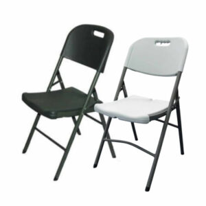 Folding Chair in Black or white
