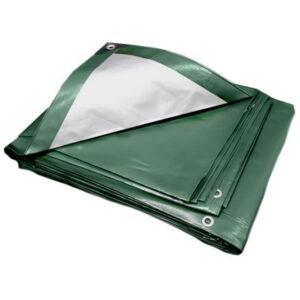 Green Silver Medium tarpaulin No Background
