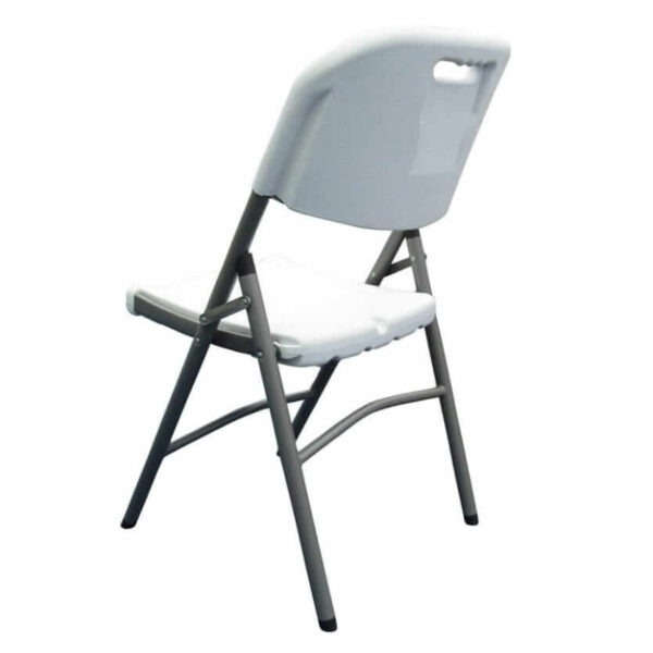 Rear view of Folding Chair
