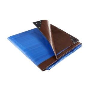 Blue Brown tarpaulin No Background