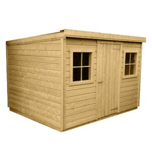 New Pent Shed with no background