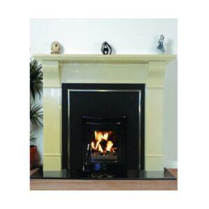 Tara Fireplace Full Set with lit fire