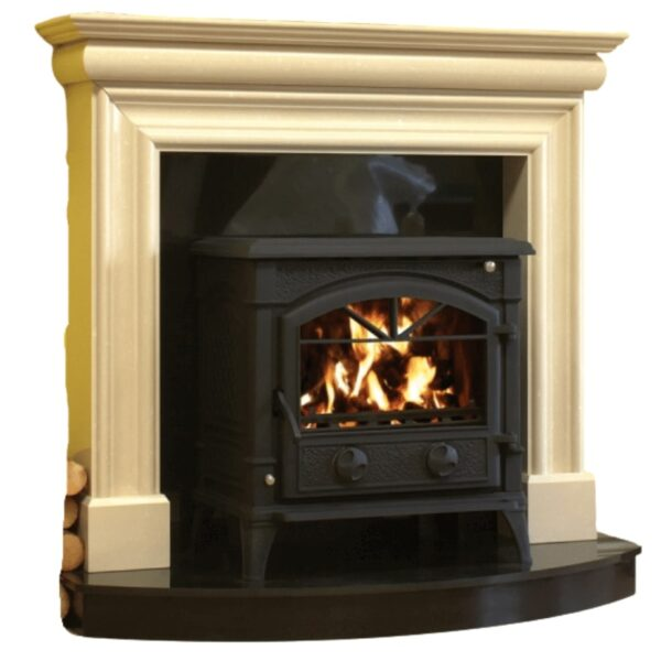 Wexford Fireplace on a plain white Background