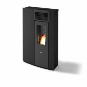 Hamco Perla Pellet stove on a white Background