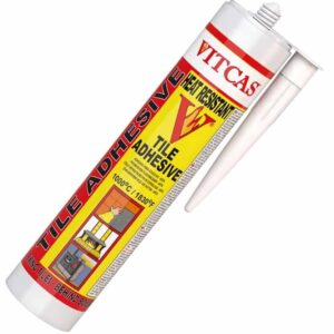 Tile Adhesive on a white background